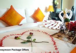 Honeymoon at Symbol of Love