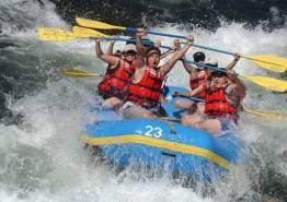 Paragaliding & River Rafting